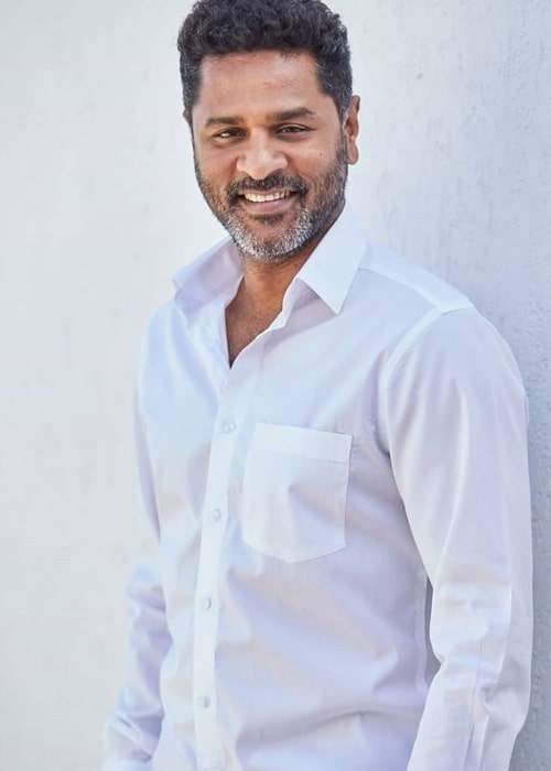 Prabhu Deva as seen in a picture taken in April 2019