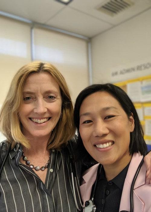 Priscilla Chan (Right) and Meg McNamara in a selfie in October 2019