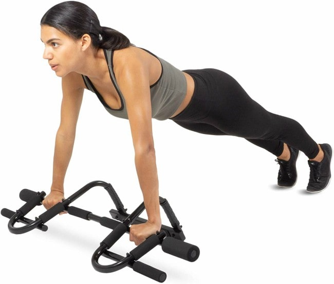 ProSource Fit Multi-Grip Pull-Up Bar Workout