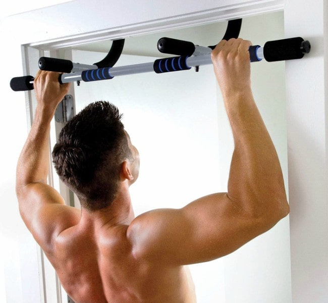 Pure Fitness Multi-Purpose Doorway Pull-Up Bar Workout