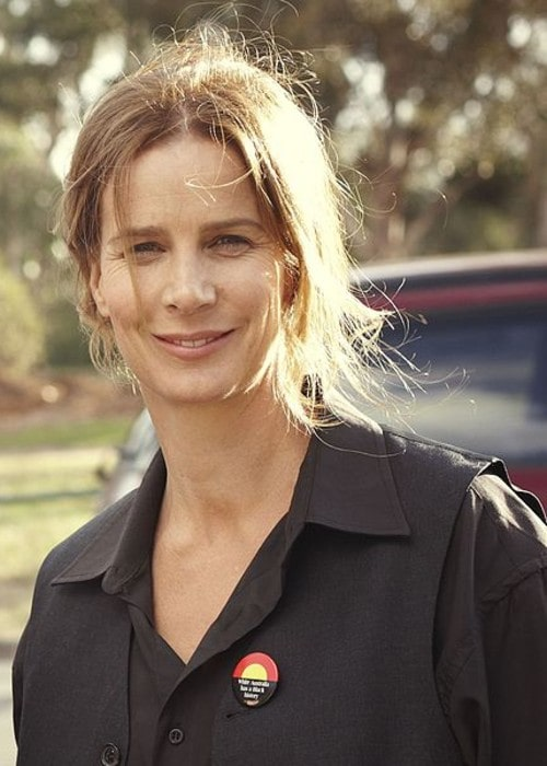 Rachel Griffiths as seen in May 2012