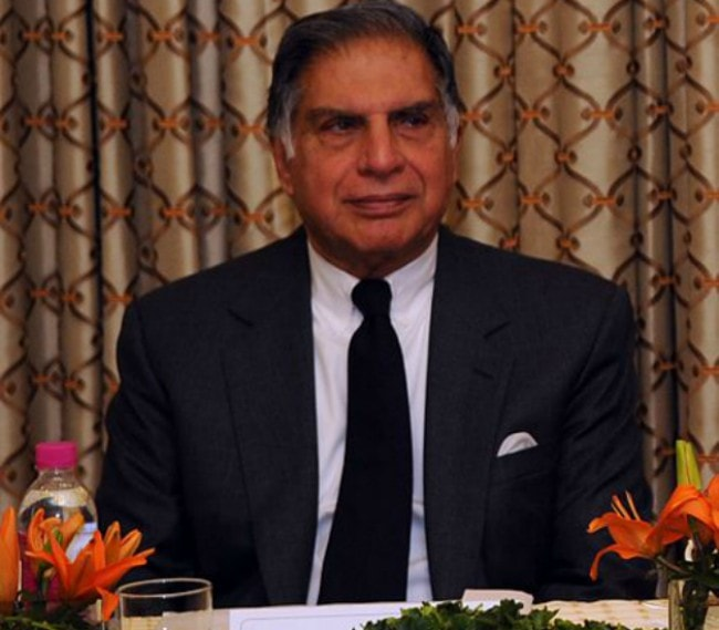 Ratan Tata during an event in 2010
