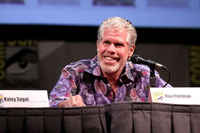 Ron Perlman at the 2011 San Diego Comic-Con International
