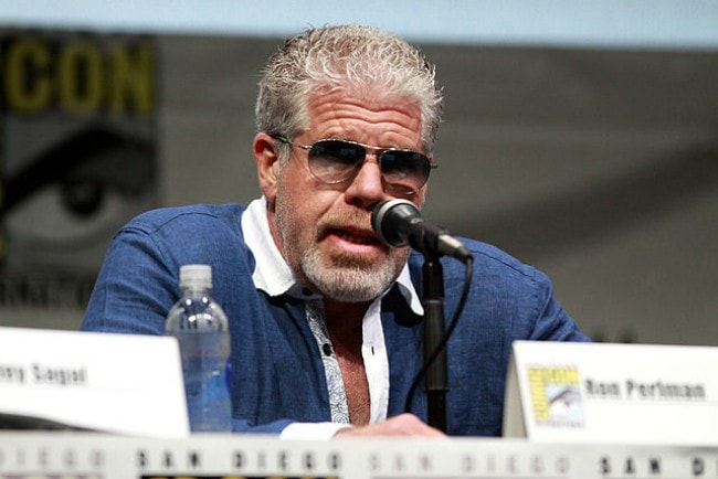 Ron Perlman at the 2013 San Diego Comic Con International