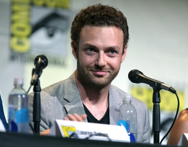 Ross Marquand as seen while speaking at the 2016 San Diego Comic-Con International, for 'The Walking Dead', at the San Diego Convention Center in San Diego, California, United States