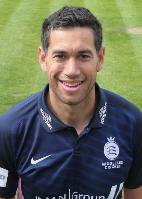 Ross Taylor as seen in a picture taken Lord's Cricket Ground in London, England in April 2019