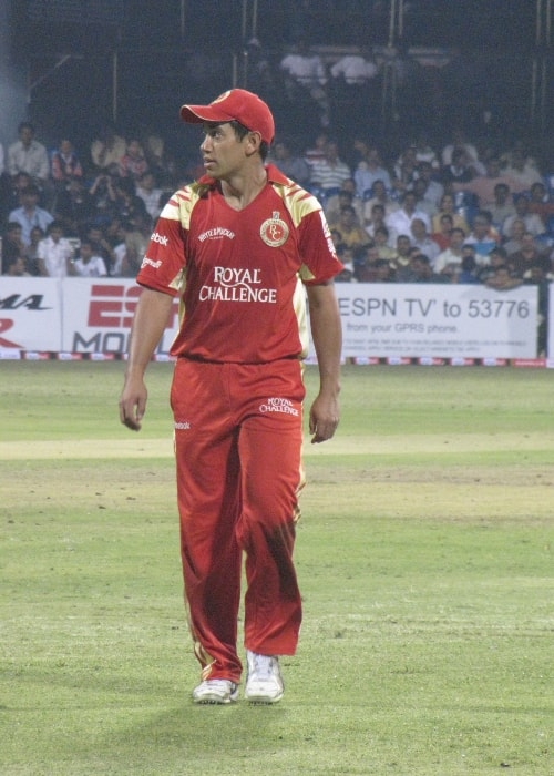 Ross Taylor as seen in a picture taken during the CLT20 match between RCB and Cape Cobras at the Chinnaswamy Stadium, Bangalore in October 2009