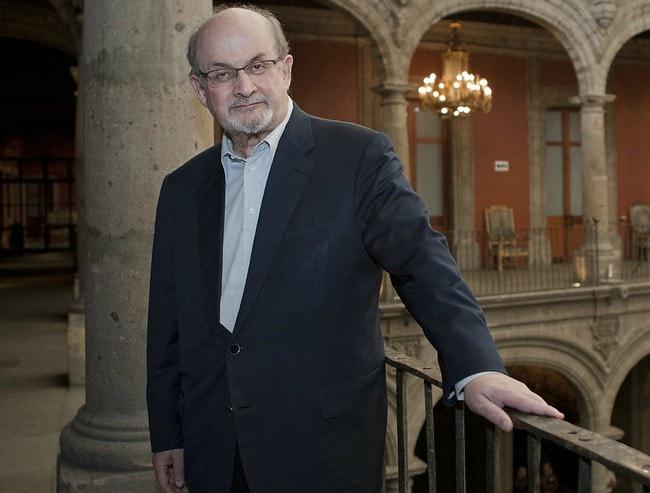 Salman Rushdie as seen in 2014