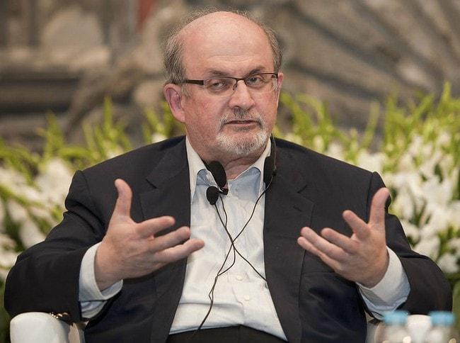 Salman Rushdie as seen in October 2014