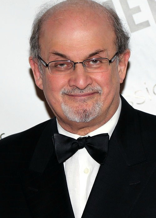 Salman Rushdie during an event in May 2014