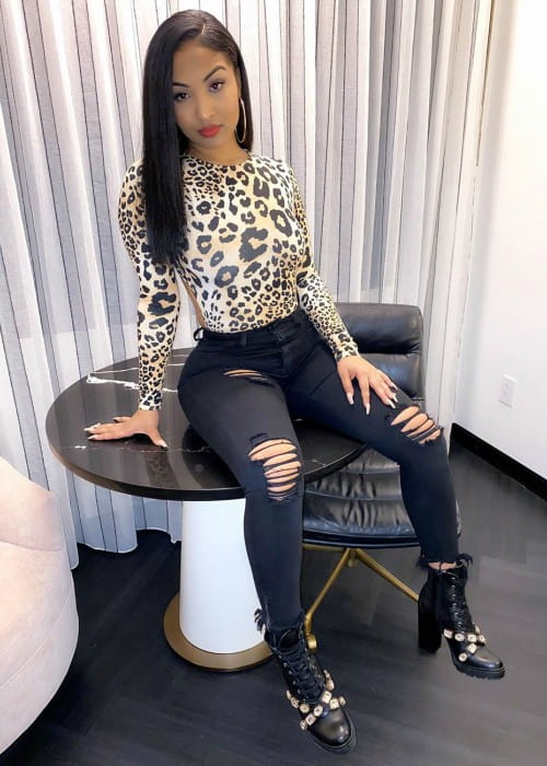 Shenseea as seen in November 2019