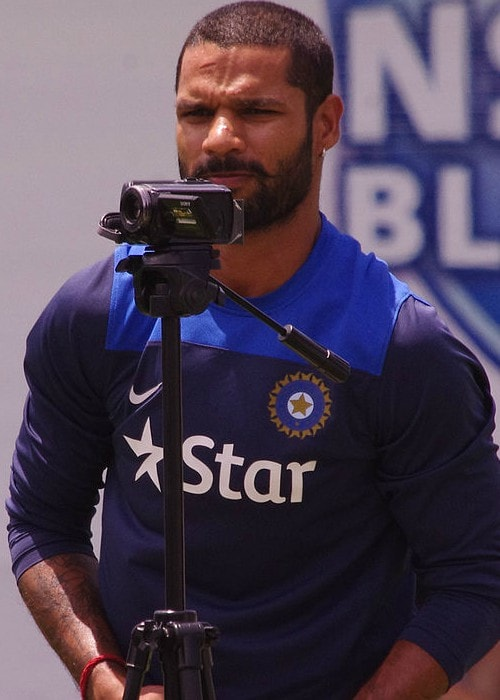 Shikhar Dhawan as seen in January 2015