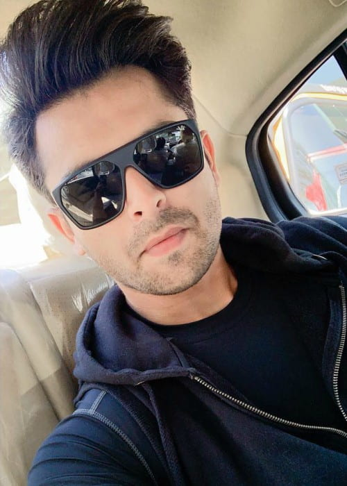 Shoaib Ibrahim in an Instagram selfie as seen in March 2019