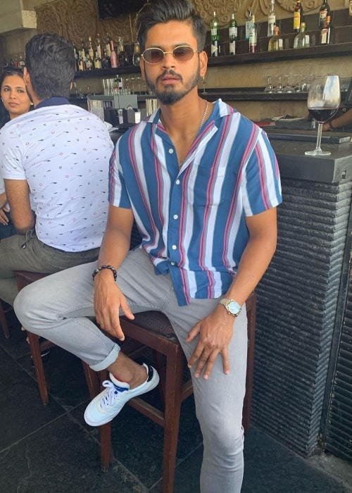 Shreyas Iyer as seen in a picture taken in November 2019