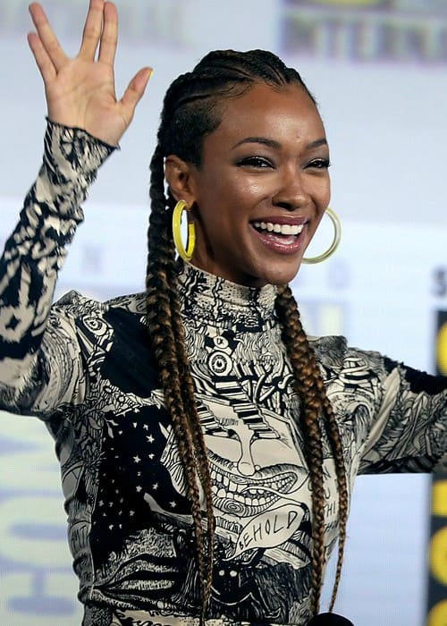 Sonequa Martin-Green at the 2019 San Diego Comic Con International