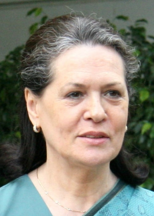 Sonia Gandhi as seen in a picture taken in July 2011 in New Delhi