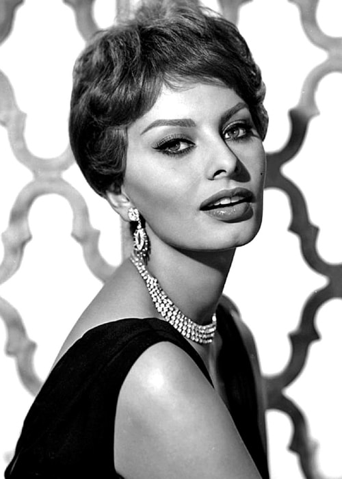 Sophia Loren as seen in a vintage picture