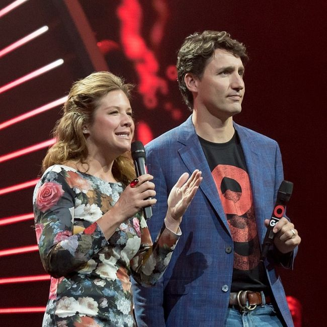 Sophie and her husband Justin Trudeau attending the 2017 Global Citizen Festival in Hamburg