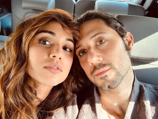 Summer Bishil as seen while taking a selfie with Hale Appleman