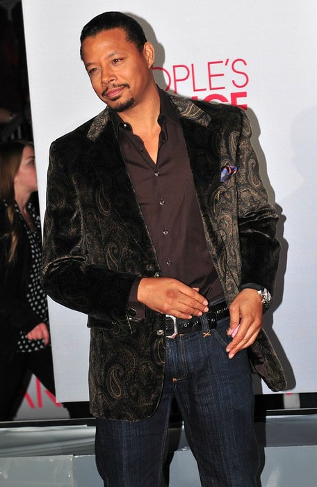 Terrence Howard at the 38th People's Choice Awards in January 2012