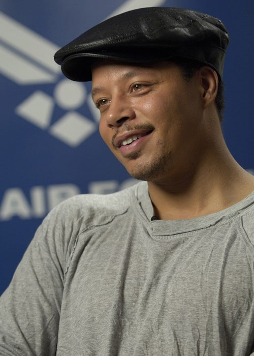 Terrence Howard during an interview in May 2008