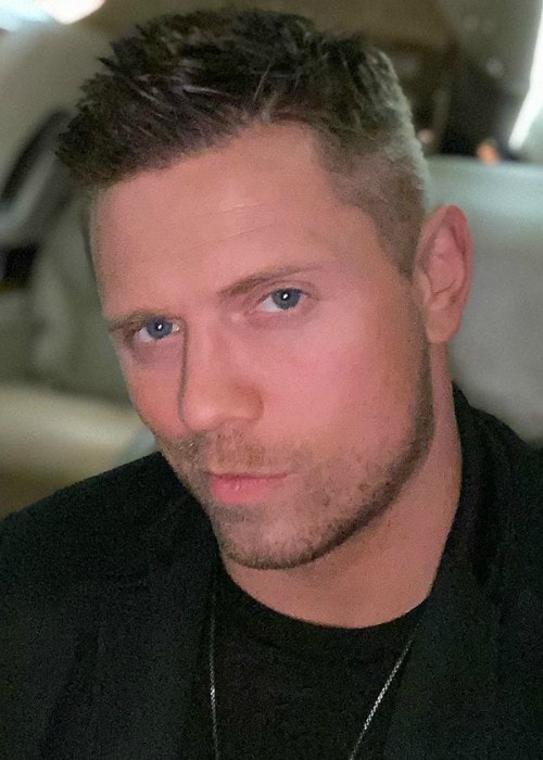The Miz in an Instagram post as seen in October 2019