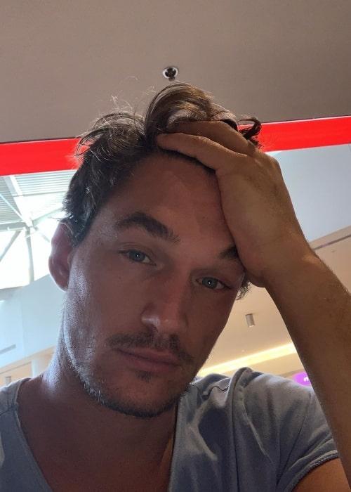 Tyler Cameron as seen in a selfie taken in July 2019