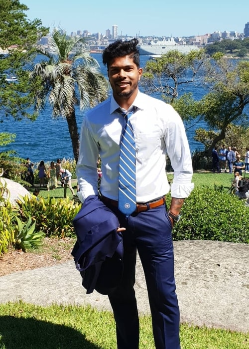 Umesh Yadav as seen in a picture taken in January 2019