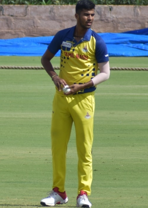 Washington Sundar as seen in a picture taken during the Vijay Hazare Trophy in Alur, Bangalore on October 26, 2019