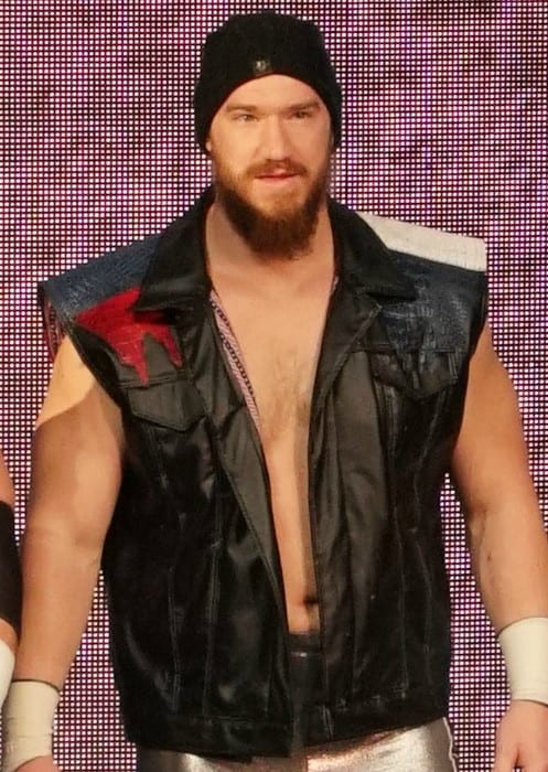 Wesley Blake at WWE Axxess in April 2018