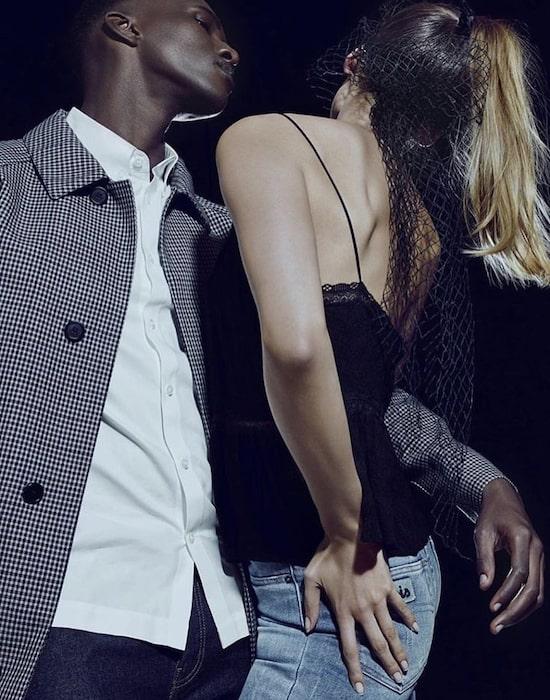 Yannick Bandora for Feeling magazine wearing Hugo Boss in 2019