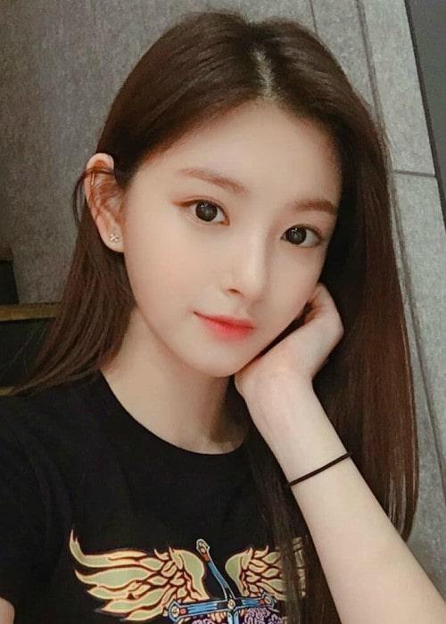 Yiren in an Instagram selfie as seen in February 2019
