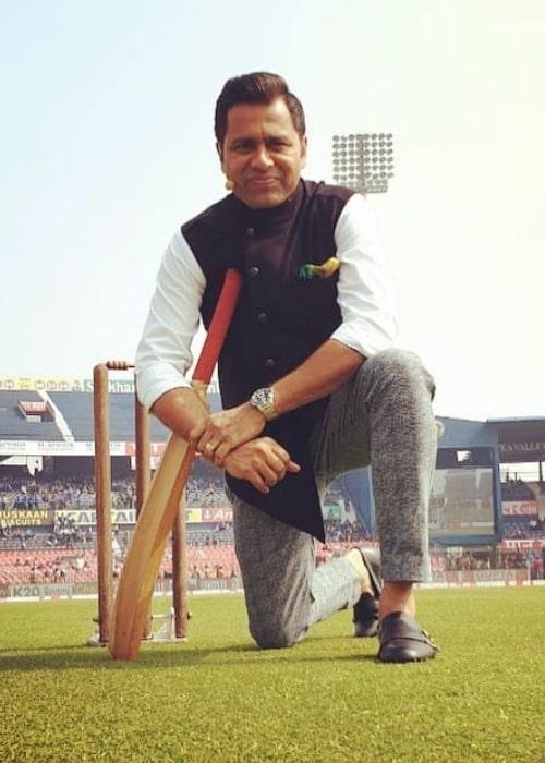 Aakash Chopra as seen in a picture taken in December 2019