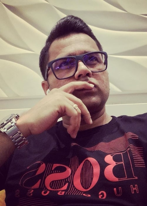 Aakash Chopra as seen in a selfie taken at the Terminal 2 Chatrapati Shivaji Terminal Mumbai in November 2019