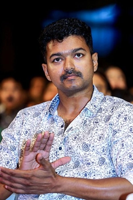 Actor Joseph Vijay at Puli Audio Launch 2015