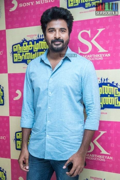 Actor Sivakarthikeyan as seen in Nenjamundun Nermaiyundu Odu Raja Audio Launch 2019