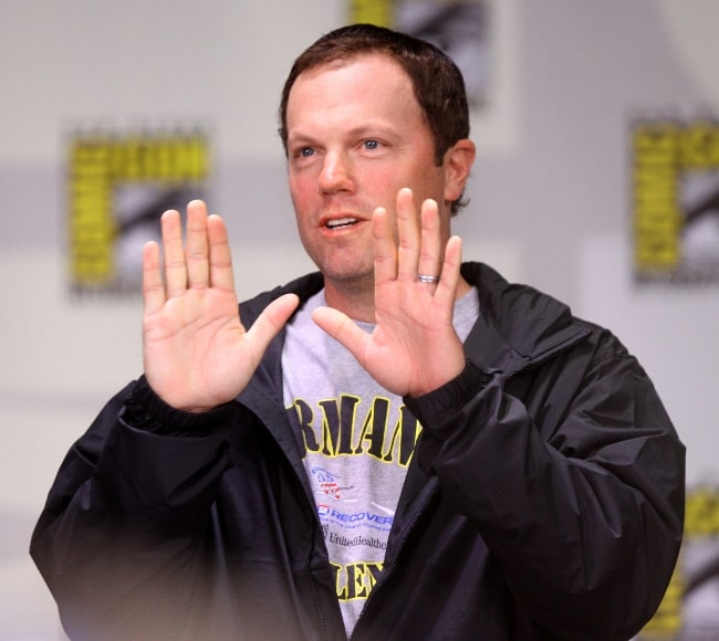 Adam Baldwin as seen in a picture taken at the 2011 San Diego Comic-Con International in San Diego, California, United States