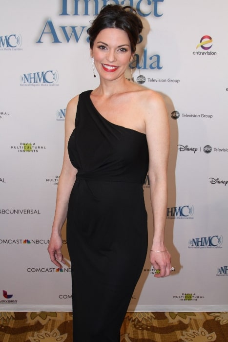 Alana de la Garza as seen while posing for the camera at the 16th Annual Impact Awards Gala in February 2013