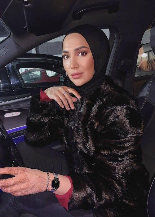 Amena Khan as seen in November 2019