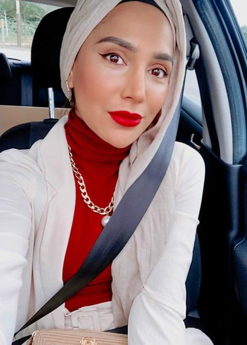 Amena Khan in a selfie in September 2019