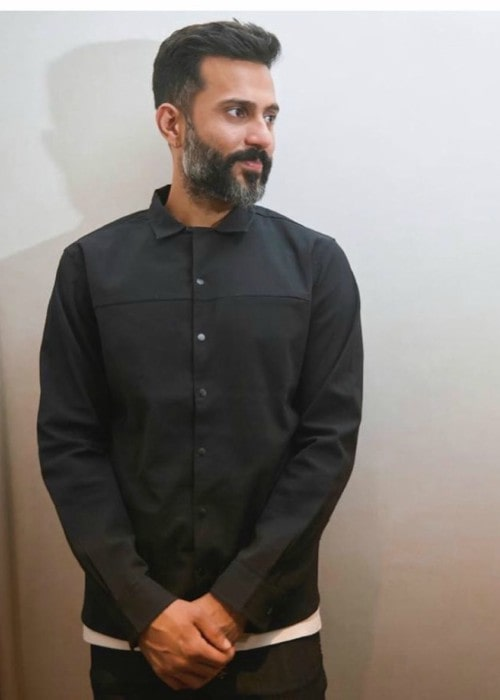 Anand Ahuja in an Instagram post in November 2019