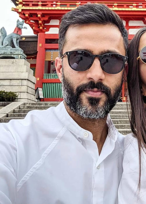 Anand Ahuja in an Instagram selfie as seen in June 2019
