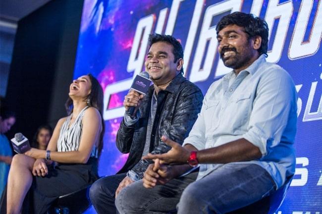 Andrea Jeremiah, AR Rahman, Vijay Sethupathi at the 'Marvel Anthem' Launch 2019