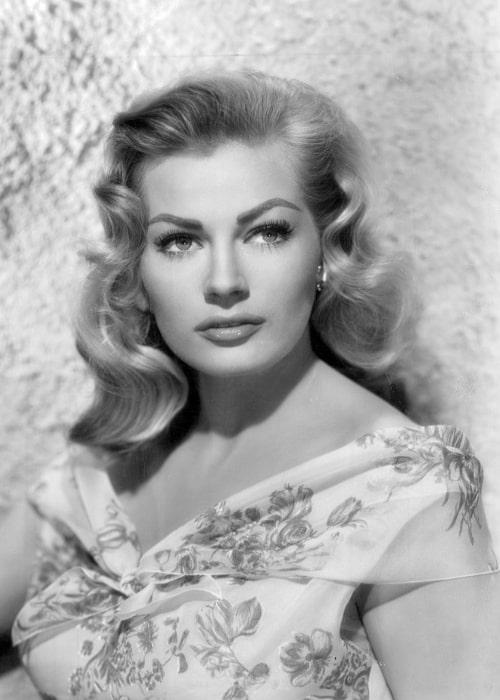 Anita Ekberg as seen in 1956