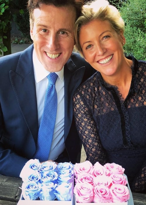 Anton du Beke as seen in a picture with his wife Hannah Summers in September 2018