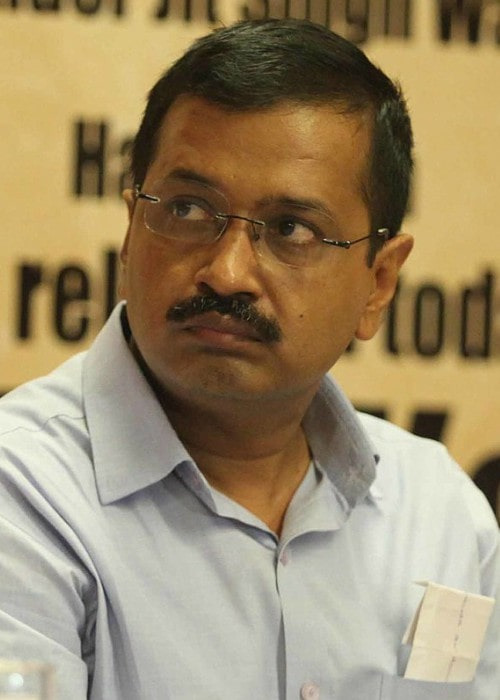 Arvind Kejriwal during an event as seen in July 2016