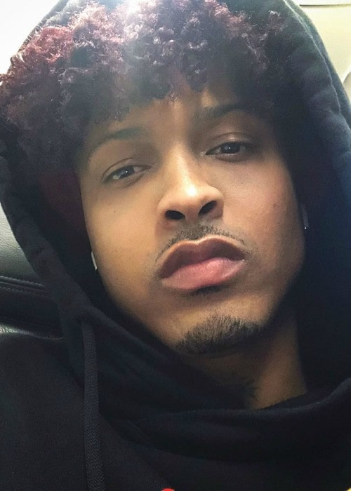 August Alsina in a selfie in December 2019