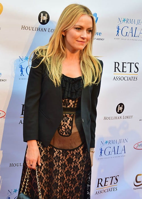 Becki Newton at the 4th Annual Norma Jean Gala in March 2015