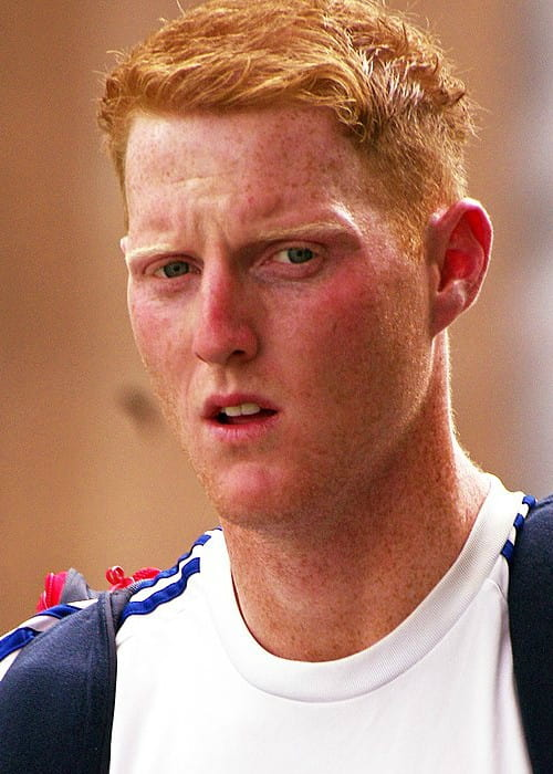 Ben Stokes as seen in January 2014