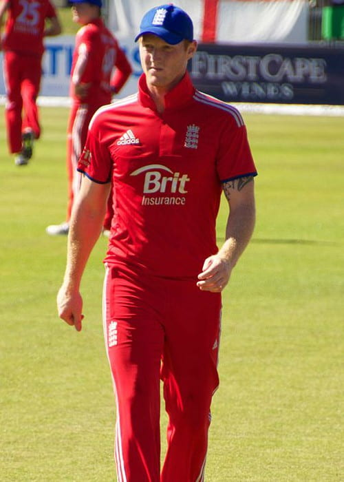 Ben Stokes during a match as seen in September 2013